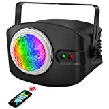 Stage Laser Light, OPPSK 2 in 1 Ocean Wave Night Light Projector & Stage Laser Lights, Remote Control & Auto-Play for DJ Live Show Disco Party Christmas Decoration Stage Lighting