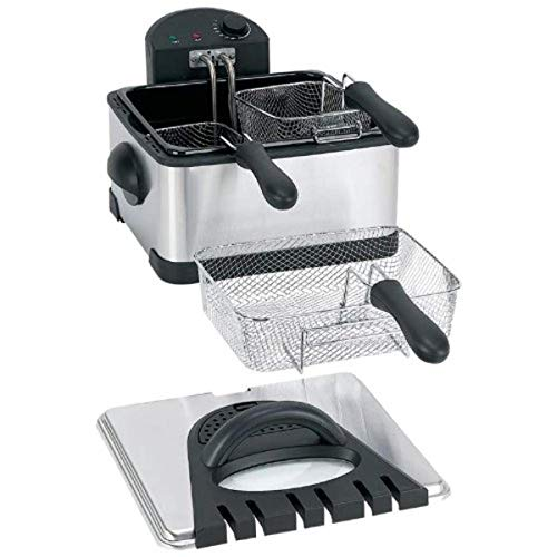 Maxam KTELFRY4 Electric Deep Fryer, 4 Quart