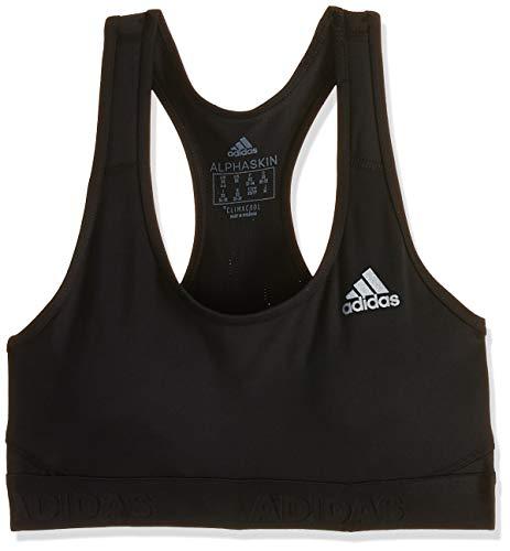 adidas Damen Don't Rest Alphaskin Sport BH Mit Leichter Unterstützung, Black, XL