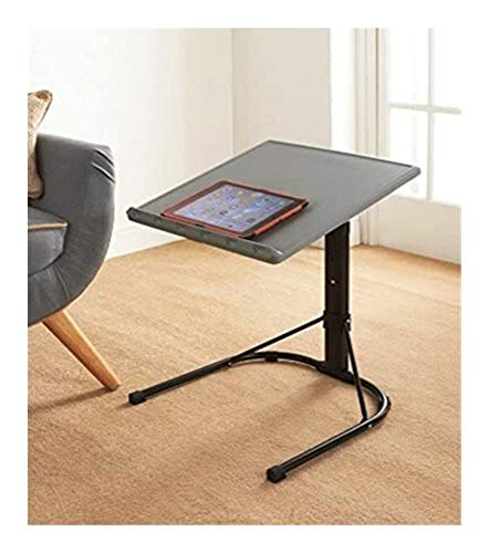 Elegent Spaceways Adjustable Table - Grey & Black It's Ready for Any Task or Function.