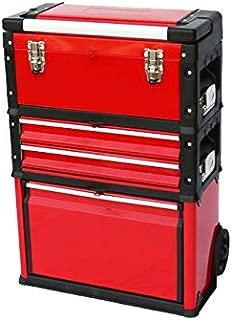 ツールボックスキャリー3段 工具箱 キャビネット ハンドツール ツールステーション 移動型ツールボックス トロリー トローリー TBC-3