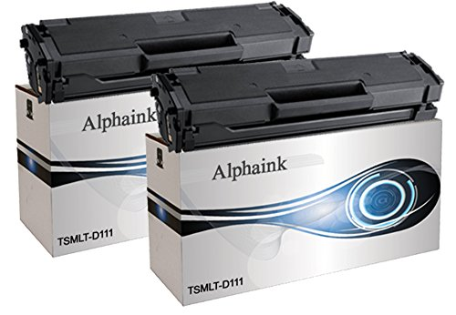 2 Toner Alphaink CompatibilI con Samsung MLT-D111 versione L da 1.800 copie per stampanti Samsung Xpress M2070, M2020, M2026