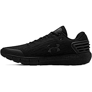 Under Armour Men's Charged Rogue Running Shoe, Black (001)/Black, 8