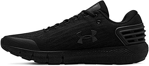 Under Armour Men's Charged Rogue Running Shoe, Black (001)/Black, 7