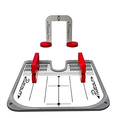Bowltoo Golf-Übungsputter Golf-Putter-Spiegel DREI-Schicht