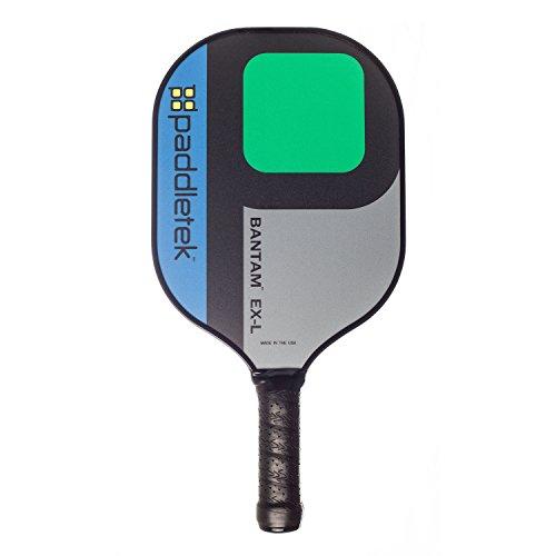 Paddletek Bantam EX-L Pickleball Paddle, Blue/Green