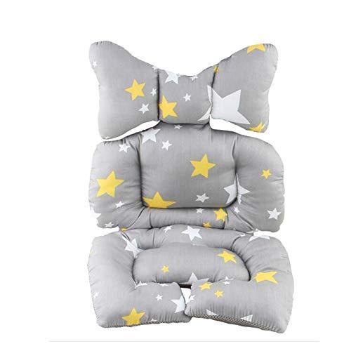 G-Árbol Cochecito Silla de bebé del coche universal de algodón del amortiguador de asiento Liner estera del cojín protector para cubrir del bebé muchacho del niño Los bebés, Estrella