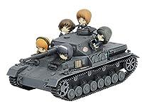 プラッツ ガールズ&パンツァー IV号戦車F2型(D型改) あんこうチーム プチあんこうチーム付き特別版 1/32スケール プラモデル GP-59