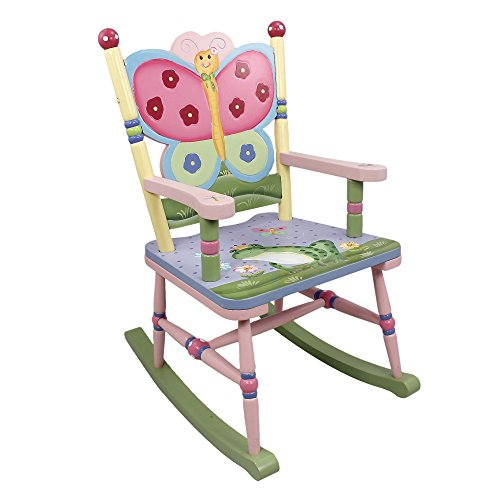 Fantasy Fields Kinder Magic Garden Kids Holz-Schaukelstuhl Babyzimmer W-7499A