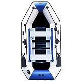 HYYQG Kayak Inflable para 2 Personas, Accesorios para Kayak, Paletas, Portaequipajes, Portaequipajes, Cubiertas, Correas De Correa De Ancla, Bomba De Mar, Kit De Pesca, Guantes De Varilla