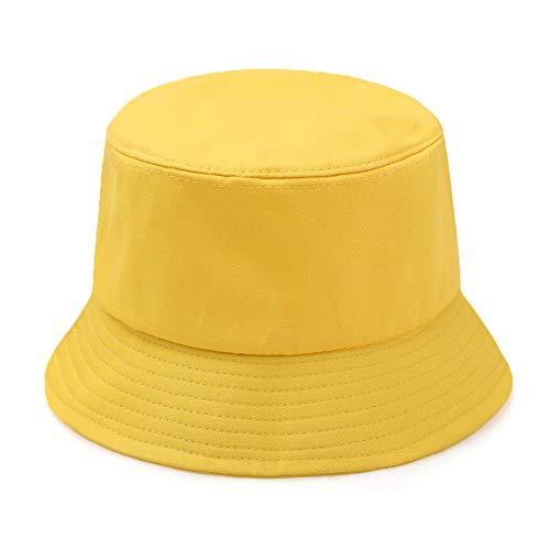 YDXC Bucket Cap World Peace Print Summer Fisherman's Hat Balloon Girl Banksy Love Bucket Hat Woman Man Outdoor Cap Apply To Running Travel Etc-Yellow_One_Size