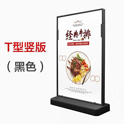 FGDH&SDF Grafikkarte Acryl Lizenzierung Werbung Kleines Produkt Teestube Menü Preisliste Tabelle Karte Doppelseitiger Preis-D_200X100Mm