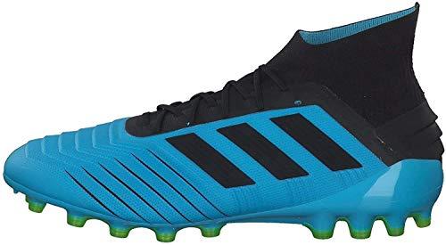 Adidas Predator 19.1 AG, Botas de fútbol Hombre, Multicolor (Ciabri/Negbás/Amasol 000), 48 2/3 EU