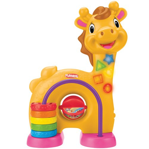 playskool Jouet De Premier Age - Girafe J'apprends Les Chiffres