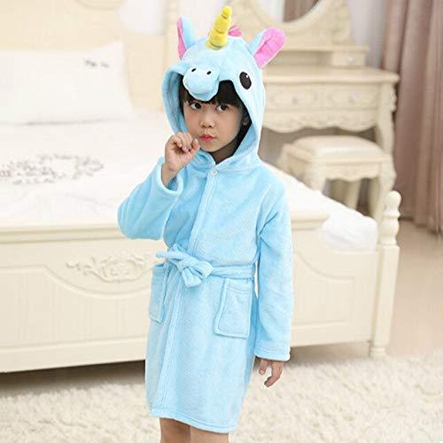 Kinder Bademantel für Mädchen Pyjama KinderJungen Bademäntel Nachthemd Baby...