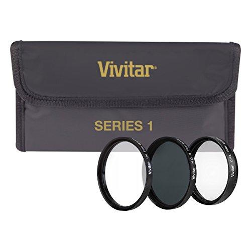 Vivitar Conjunto de filtros HD multirevestidos de 3 peças (40,5 mm UV/CPL/ND8)