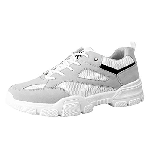SSUPLYMY Herren Running Shoes Mesh Comfortable Lightweight Trainers Laufschuhe Sportschuhe Turnschuhe Herren Sneakers Running Shoes Air Sport Atmungsaktiv Straßenlaufschuhe