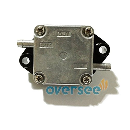 OVERSEE 15100-91J02 Fuel Pump Assy for Suzuki Outboard Motor 4 Stroke DF 4HP 5HP 6HP, Boat Motor Replacement Fuel Pump Aftermarket Parts 15100-89J01