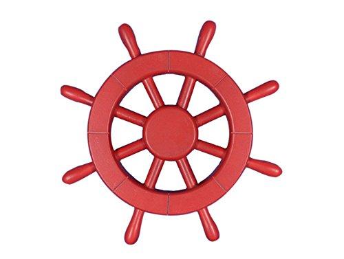 HND Rouge Bateau de Roue 30,5 cm