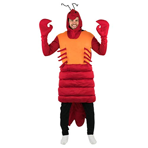 Bodysocks® Kreeft Fancy Jurk Kostuum (Volwassen)