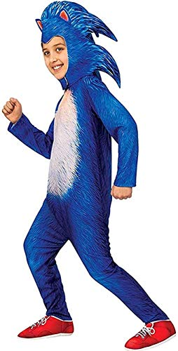 YOMI Sonic - Disfraz de erizo para niños (azul)