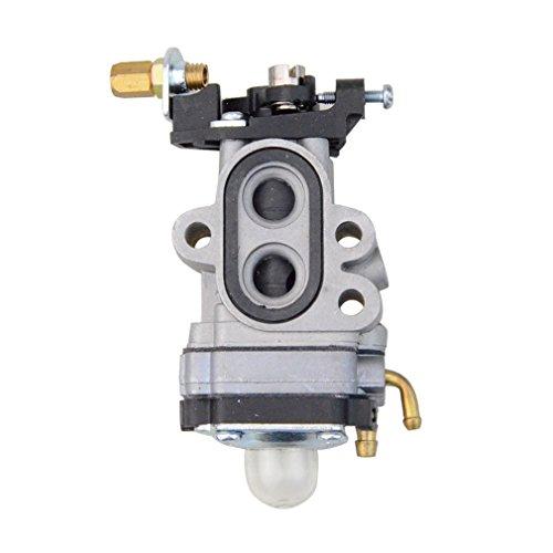 GOOFIT Carburador 37 Moto para 23cc Soplador Gasolina Poulan Recortadora PPBP30 SM30SB 5745905-01 Motor Ciclomotor y Scooter Plata