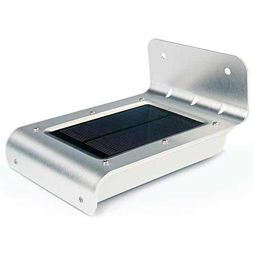 Uniquefire ソーラーライト 16個LED電球を 人感センサーライト、明暗センサーライトと音センサーライト三つ功能合一アウトドアライト