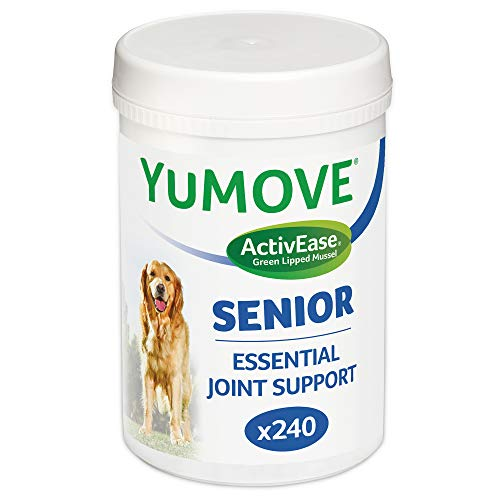 Lintbells | YuMOVE Senior Dog | Higher Strength Hip and Joint Supplement Formulation Designed for Older Dogs | Aged 8+ | 240 Tablets