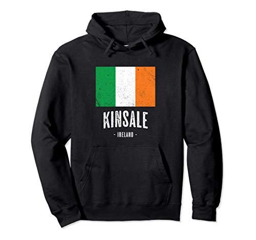Città di Kinsale Irlanda | Bandiera irlandese Souvenir - Felpa con Cappuccio