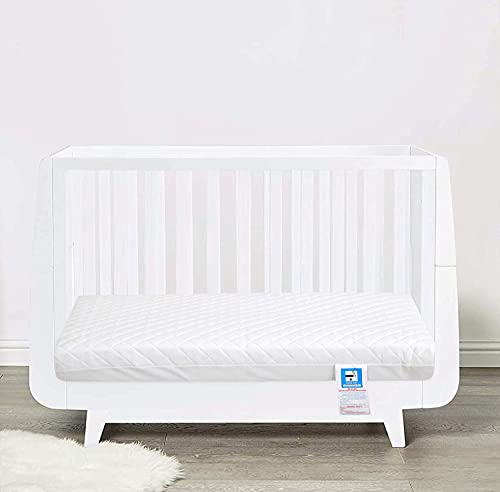 NightComfort® Baby Toddler Cot Bed Mattress Quilted Breathable Extra Thick 120 x 60 x 13cm - (Fits Mothercare and Mamas & Papas Sizes)
