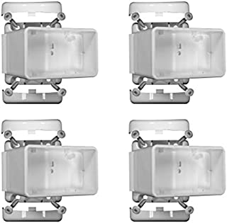 YardSmart 73012492 Select L/R Angle Bracket Kit Vinyl Railing, White