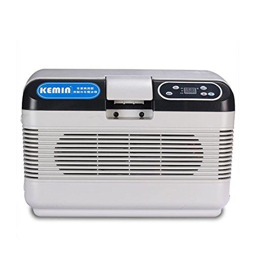 JCOCO Voiture Réfrigérateur 12L Voiture Maison Double Usage Mini Froid Et Chaud Incubateur Maison Réfrigération Dortoir Chambre Réfrigération Mini Réfrigérateur