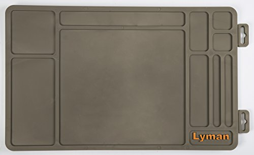 Lyman Products Essential Gun Maintenance Mat, Gray, One Size (04050)