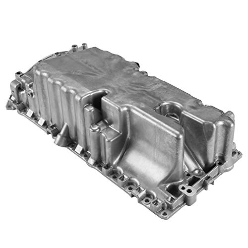A-Premium Engine Oil Pan Compatible with Volvo C30 2007-2013 C70 2005-2013 S40 2004-2012 V50 V60 L5 2.4L 2.5L
