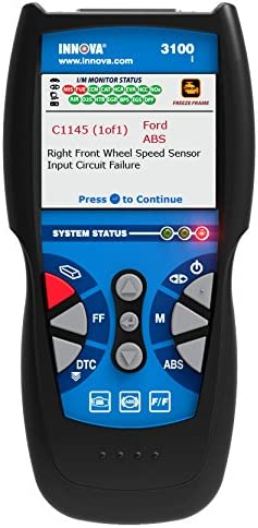 INNOVA 3040d Diagnostic Code Reader/Scan Tool with ABS and Live Data