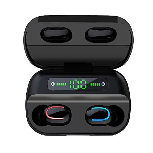 COOLEAD HBQ Pro Auriculares Inalámbrico Auriculares Bluetooth 5.0, Impermeable al Sudro, Gancho para la Oreja, para iPhone y Android