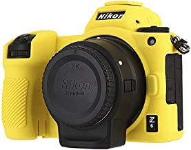 STSEETOP Nikon Z6 Z7 Case,Professional Silicone Rubber Camera Case Cover Detachable Antiscratch Shockproof Full Body Prote...