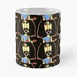 lumeCube Cult Zappa Guitar Music Movie Frank Band Comedy Solo Meilleur Cadeau Tasse à café 11 oz