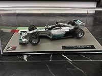 メルセデスF1 W05 ハイブリッド ルイスハミルトン 2014年 1/43 - Deagostini F1マシンコレクション デアゴスティーニ