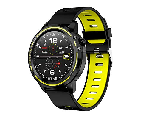 Leotec Smartwatch MultiSports ECG Lime Green