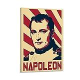 RTYWQ Napoleon-Poster, dekoratives Gemälde, Leinwand,