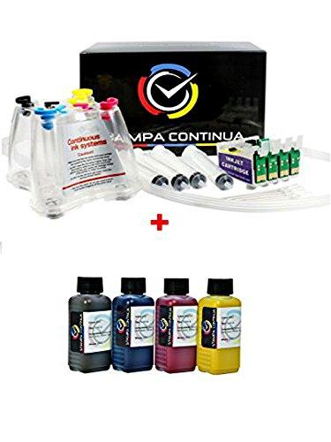 Set de 400ml tintas con CISS Sistema de alimentación Continua de 'Cartuchos de Tinta para Epson 29XL, Expression Home XP-442