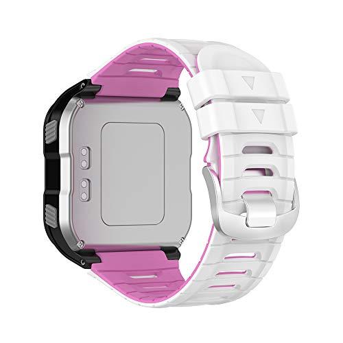 KINOEHOO Correas para relojes Compatible con Garmin Forerunner 920XT Pulseras de repuesto.Correas para relojesde siliCompatible cona.