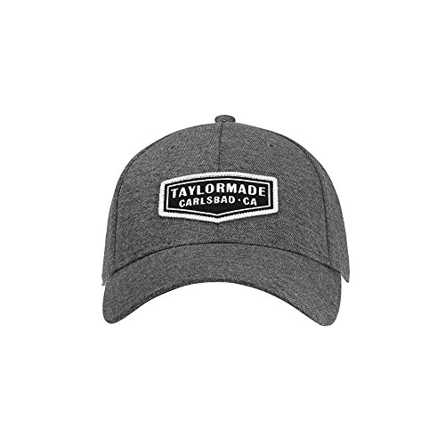 TaylorMade Men's Lifestyle Cage Cap, Charcoal, Large/X-Large