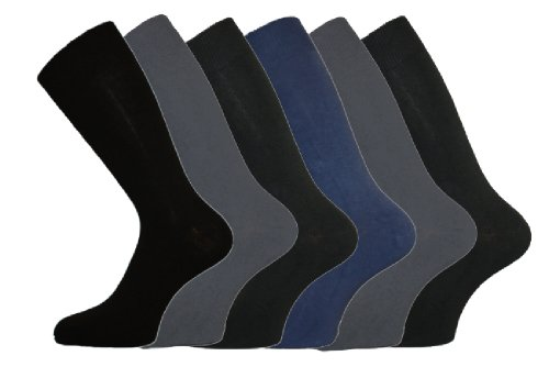 Socks Uwear - Chaussettes basses - - Chaussettes Homme Multicolore Mix Darks 39-45