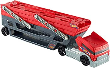 Hot Wheels Mega Hauler Truck with 4 Cars