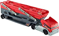 Easy and fun to load and haul your hot wheels vehicles The massive mega hauler can carry more than 50 cars in its six expandable There are even more features that make this big hauler mega connect to hot wheels orange track and roll your cars onto a ...