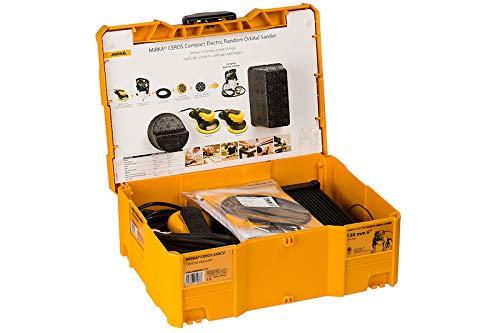Mirka DEROS 5650CV Exzenterschleifer 125mm/150mm 5,0 Hub Brushless + systainer (MID5650202CA) + 110x Schleifscheiben