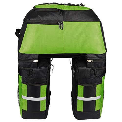 Lixada Bolsas multifuncionales para alforjas de bicicleta - Bolsa de asiento trasero...