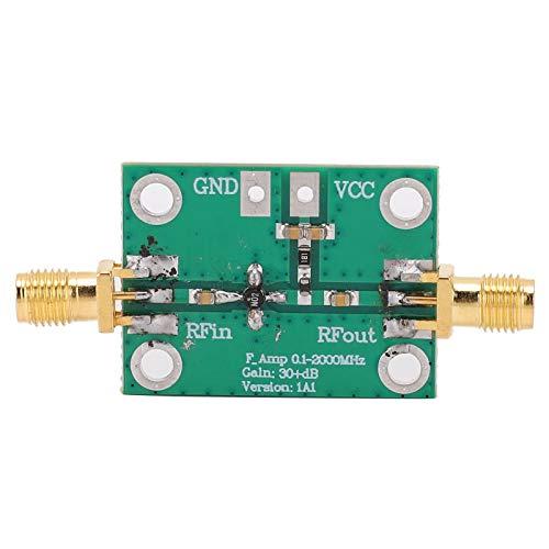 Amplificador de banda ancha RF de 0,1-2000 MHz duradero, amplificador de bajo ruido de 30 dB, módulo de placa LNA, 3 uds, fácil de montar